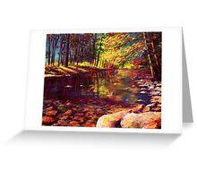 Summer Yosemite River Greeting Card