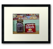 COFFEE BEANS! Framed Print