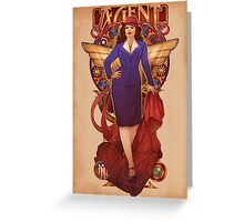 Call Me Agent Greeting Card