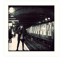Underground cal - Jan Art Print