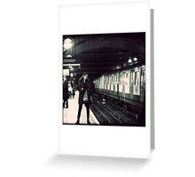 Underground cal - Jan Greeting Card