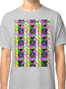 opto novo stain glass Classic T-Shirt