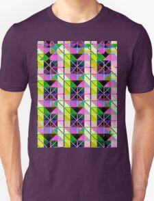 opto novo stain glass Unisex T-Shirt