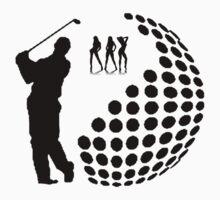 the golfer by ralphyboy