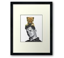 Wild Bill and Baby Wolf Framed Print