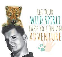 Wild Spirit: Wild Bill and Baby Wolf by nannowandnext