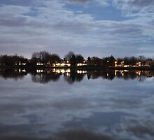 Richelieu river at Night #1 by sabrosafb
