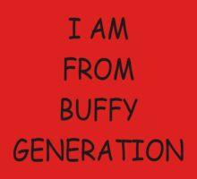 BUFFY GENERATION by Michelle Whelan