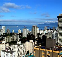Condos With A View by George Cousins