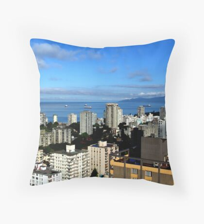 Condos With A View Throw Pillow