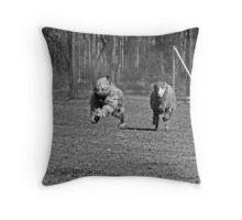 Moose #1 Throw Pillow