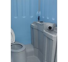 New Blue Loo Photographic Print