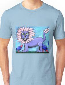 Lavender Lion  Unisex T-Shirt