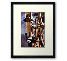 Mulga Bill's Bicycle Framed Print