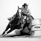 Jr. Rodeo World Champion Barrel Racer by J.D. Bowman