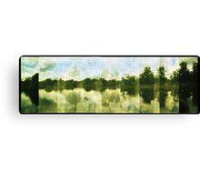 Stillness at the Crystal Palace Canvas Print