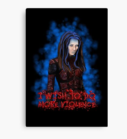 Angel - Illyria  Canvas Print