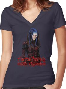 Angel - Illyria  Women's Fitted V-Neck T-Shirt