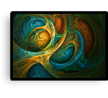 """Spirit Realm"" - Fractal Art Canvas Print"