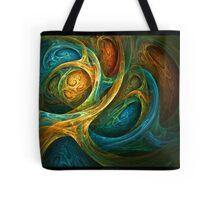 """""""Spirit Realm"""" - Fractal Art Tote Bag"""
