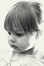 Little Girl Sitting By The Window by Evita