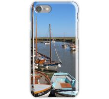 Blakeney Point Boats Moared iPhone Case/Skin