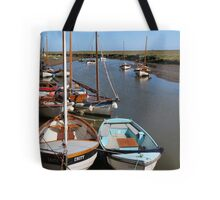 Blakeney Point Boats Moared Tote Bag