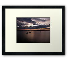 Howth Island Magical -Ireland Framed Print
