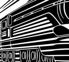Trains are always on my mind Sticker