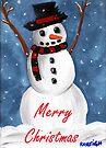Simon the Snowman Merry Christmas by Kayleigh Walmsley