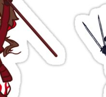 BASARA - yells RIVALS as loudy as possible Sticker