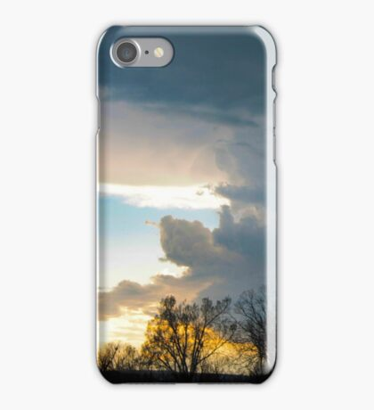 Storm in the Afternoon iPhone Case/Skin