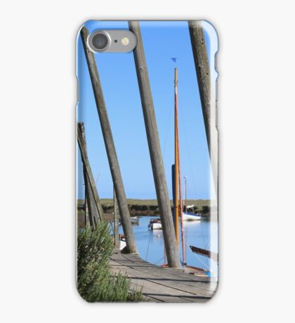 Blakeney Harbour iPhone Case/Skin