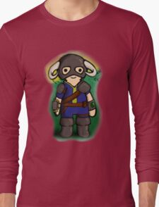 Dovahkiin The Vault Dweller Long Sleeve T-Shirt