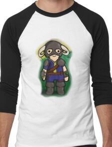 Dovahkiin The Vault Dweller Men's Baseball ¾ T-Shirt