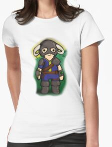 Dovahkiin The Vault Dweller Womens Fitted T-Shirt