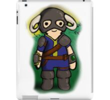 Dovahkiin The Vault Dweller iPad Case/Skin