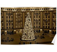 Christmas at West Baden Poster