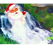 HO Ho Ho ! Photographic Print