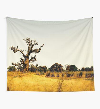 a vast Senegal landscape Wall Tapestry