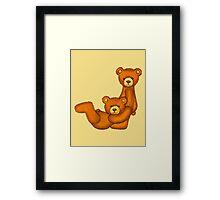 Teddy Bear Alphabet ~ Letter J ~ Initial Framed Print