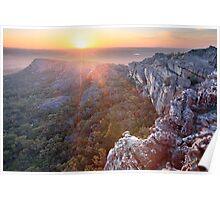 Flat Rock, Mt Stapylton, Grampians, Victoria, Australia Poster