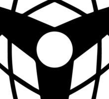 Mangekyo Sharingan - Black White Sticker