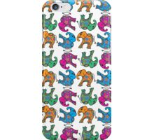 elephants, elephants and elephants  iPhone Case/Skin