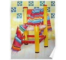Silla de la Cocina/Kitchen Chair Poster