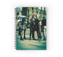 Punks on Parade:-) Spiral Notebook