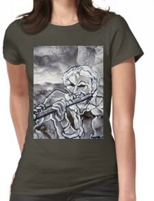 BLUE FLUTE Womens Fitted T-Shirt