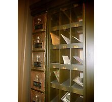 Museum Mail Box Photographic Print
