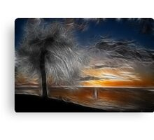 Hallucinogenic Sunrise Canvas Print