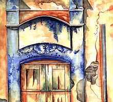 Window from Santiago by kandyce